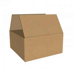 Pachet 1000 cutii carton 240x240x120 mm, natur, 3 straturi, CO3