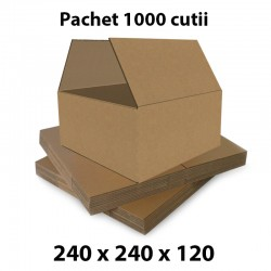 Pachet 1000 cutii carton...