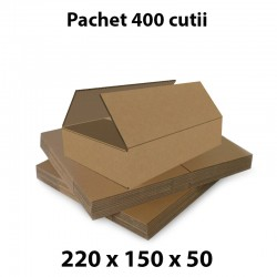 Pachet 400 cutii carton...