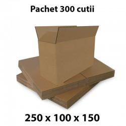 Pachet 300 cutii carton...