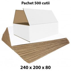 Pachet 500 cutii carton...
