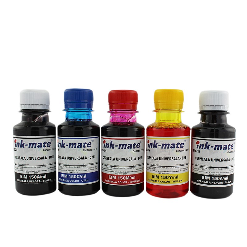 Set 5 culori cerneala pentru Epson XP-600 XP-605 XP-700 XP-800