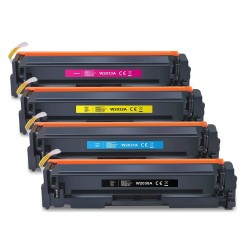 Cartus toner compatibil HP 415X, BK/C/M/Y, de capacitate mare