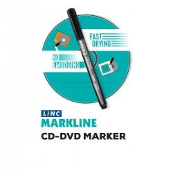 Marker CD/DVD, varf 0.5 mm, uscare rapida