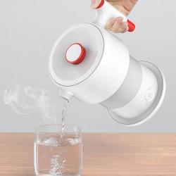 Fierbator apa, portabil, capacitate 600 ml, LCD, control tactil, elimina clorul