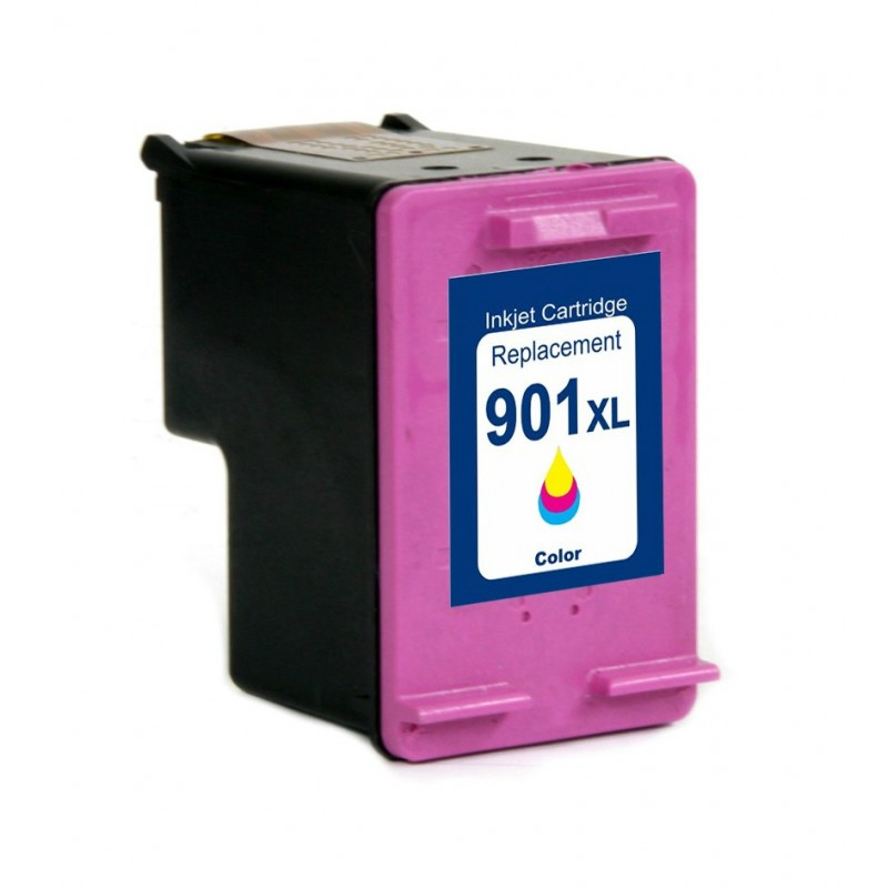Cartus compatibil 901XL color pentru imprimante HP
