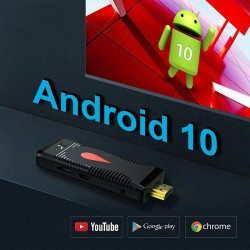 Dongle TV Android 10, Quad...