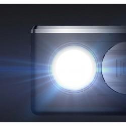 Video proiector LED Full HD, Android, difuzor incorporat 6W, HDMI, USB, SD, telecomanda