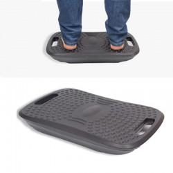 Suport ergonomic pentru picioare, cu balans, suprafata texturata, 51.5x34.5x8.5 cm