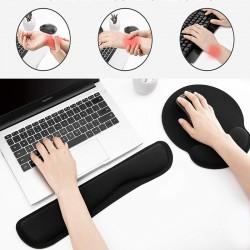 Kit mouse pad ergonomic si...