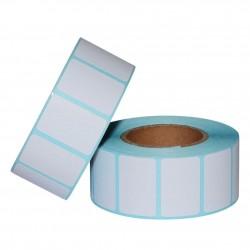 Etichete autoadezive direct termice, albe, 35x25 mm, rola 800 etichete