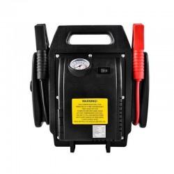 Starter auto cu compresor, 250PSI, manometru, lanterna 3.6W, indicator nivel sarcina