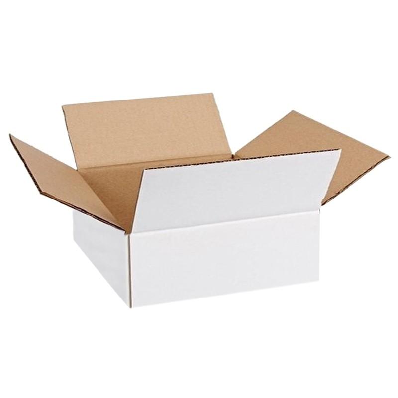 Cutie carton 210x110x110, alb, 3 straturi CO3, 470 g/mp