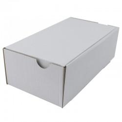 Cutie carton cu autoformare 260x200x70 alb, microondul E 400 g, FEFCO 0426