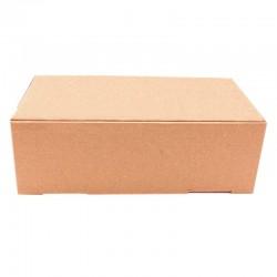 Cutie carton cu autoformare 280x360x100 natur, microondul E 360 g, FEFCO 0426