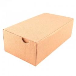 Cutie cu autoformare 200X150X100 mm, carton natur microondul E 360 g, FEFCO 0427