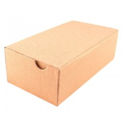 Cutie cu autoformare 430x230x60 mm, carton natur microondul E 360 g, FEFCO 0427
