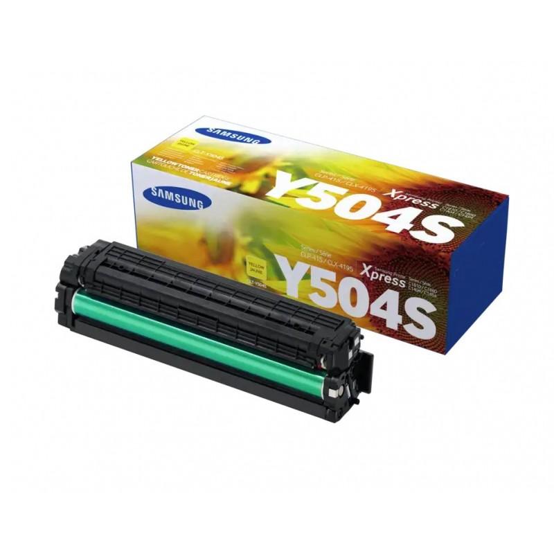 Toner CLT-Y504S yellow original Samsung CLTY504S