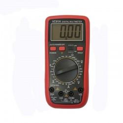 Multimetru profesional digital VC61, 10 functii, afisaj LCD