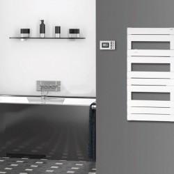 Uscator electric pentru prosoape, 500 W, termostat LCD, protectie anti-inghet