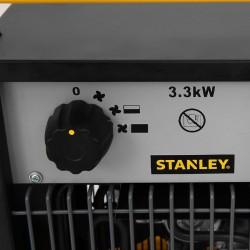 Aeroterma industriala 3.3 kW, 2 trepte de incalzire, termostat, IPX4