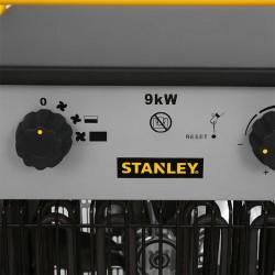 Aeroterma industriala de putere mare, 9 kW, 2 trepte de incalzire, IPX4, carcasa metalica masiva