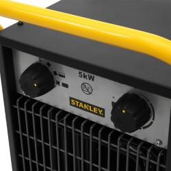 Aeroterma industriala putere 5 kW, termostat mecanic, 2 trepte de incalzire, carcasa metalica