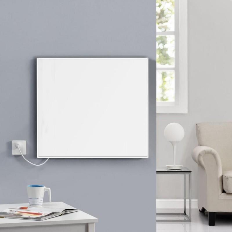 Panou infrarosu Wi-Fi 350 W, control prin smartphone, termostat electronic, telecomanda inclusa