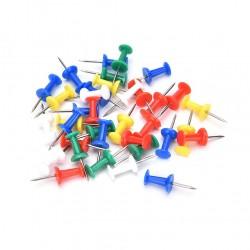 Ace pentru panou pluta, set 50 bucati, multicolor