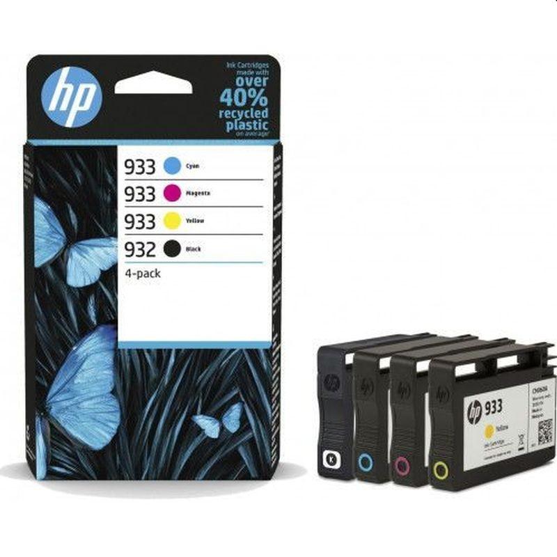 Kit cartuse originale HP 932 Black, HP 933 Cyan, Magenta, Yellow