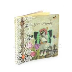 Album foto notebook - Fairy Flowers