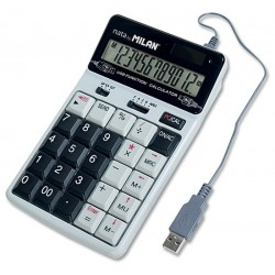 Calculator 12dig Milan 1504128 cu USB