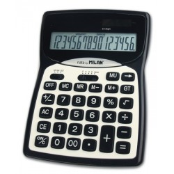 Calculator birou 16 DG Milan 016 Negru