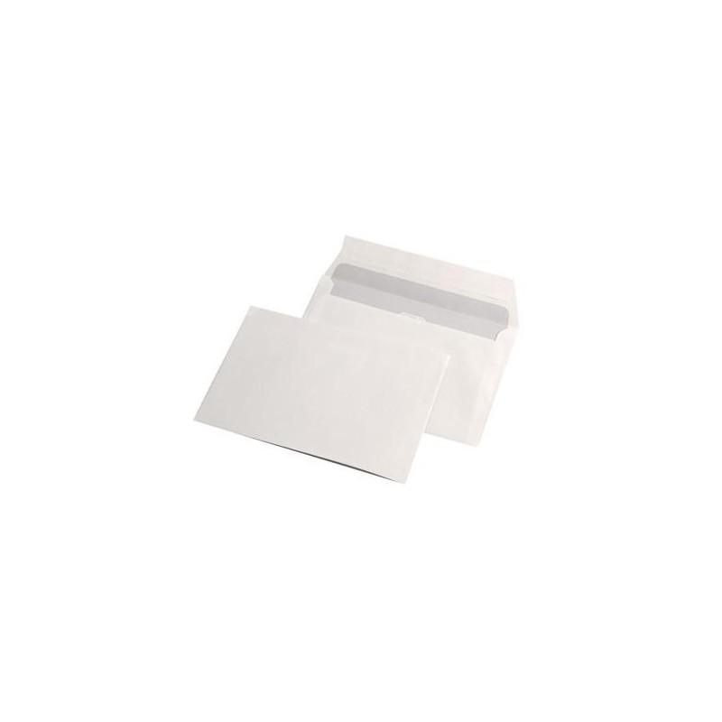 Pachet 100 plicuri albe format C6 114x162mm