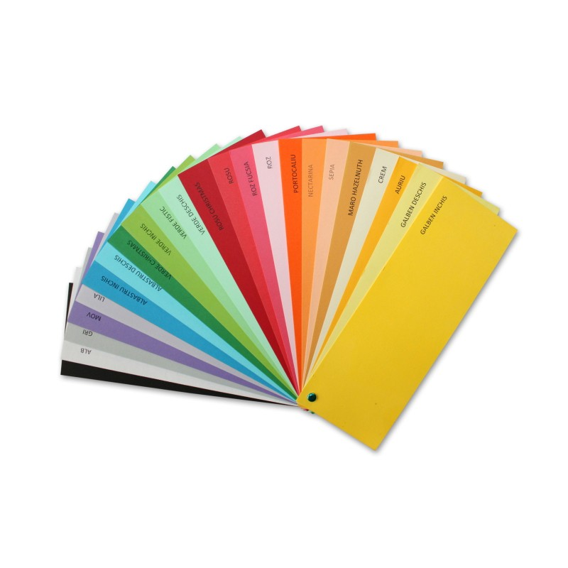 Hartie Color A4 80g/mp Pentru Imprimante Si Copiatoare Culoare: Albastru Deschis