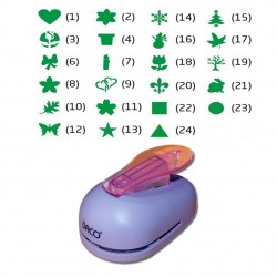 Perforator hartie Hobby diverse modele de taiere 2.5cm