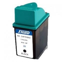 Cartus 51626A negru compatibil HP 26