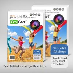 Hartie 10x15 FOTO Dual Side 220g cu suprafata mata