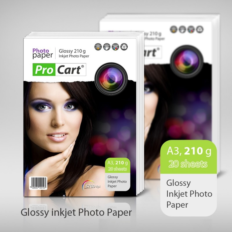 Hartie FOTO High Glossy 210g A3