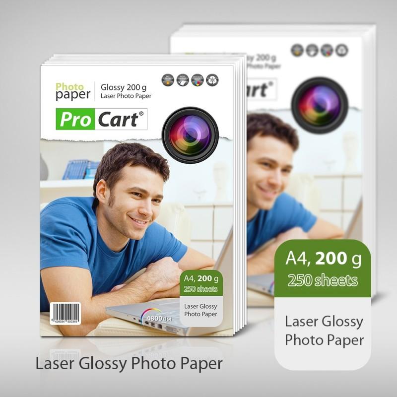 Hartie FOTO laser High Glossy 200g