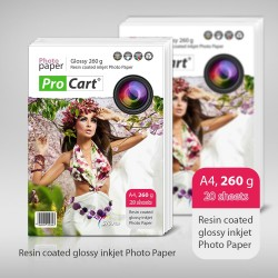 Hartie FOTO RC High Glossy 260g