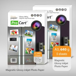 Hartie FOTO Magnetica Glossy 640g A3