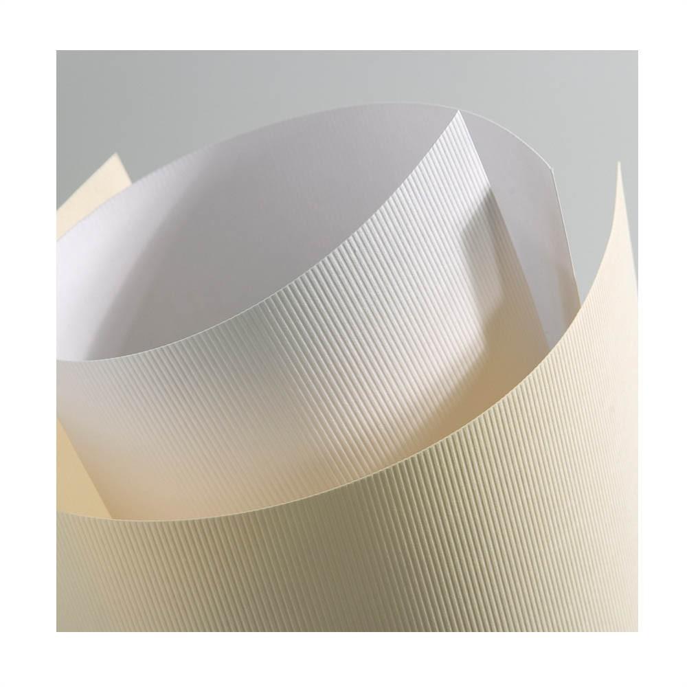 Carton Texturat Format A4 230g Top 20 Bucati Culoare: Crem textura: Linii