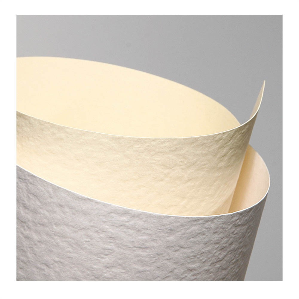 Carton Texturat Format A4 230g Top 20 Bucati Culoare: Alb textura: Piatra