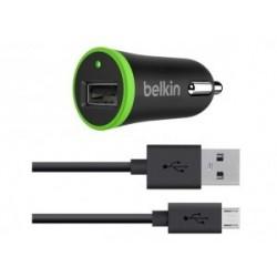 INCARCATOR AUTO BELKIN MICRO USB 2.1A BLACK