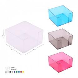 Suport cub colorat pentru notite si etichete