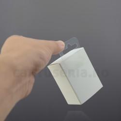 Agatatori autoadezive de plastic pentru raft