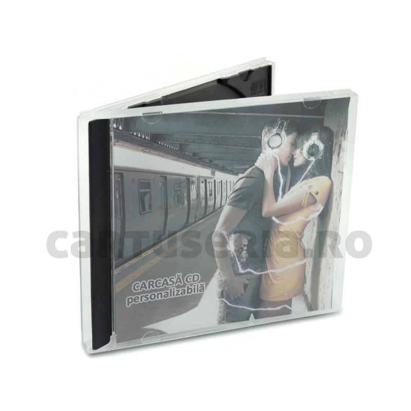 Carcasa plastic Jevel Case pentru CD 9 mm
