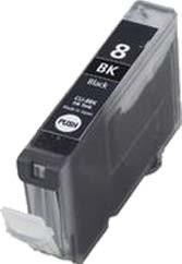 Cartus Compatibil Canon Bci-8bk Black