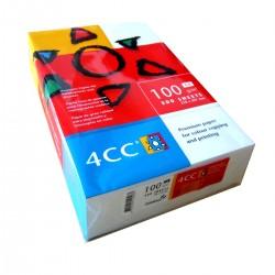 Carton 4CC A4 200gr 250 coli culoare alba